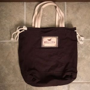 Hollister Brown Tote Bag